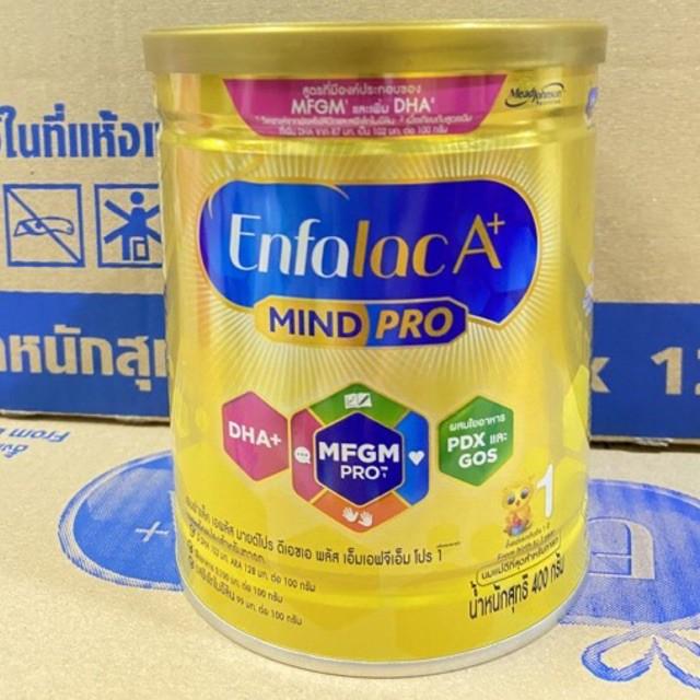 Enfalac A+ Mindpro เอนฟาแล็คเอพลัส  มายด โปร สูตร1 ขนาด400g