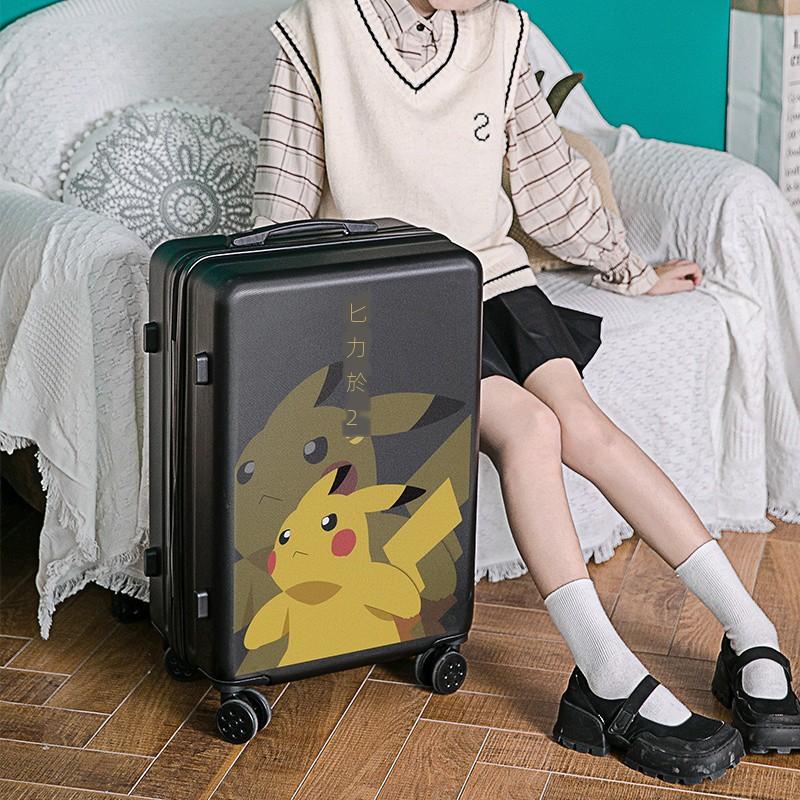 กระเป๋าเดินทางล้อลากลายการ์ตูนขนาด 24 นิ้ว