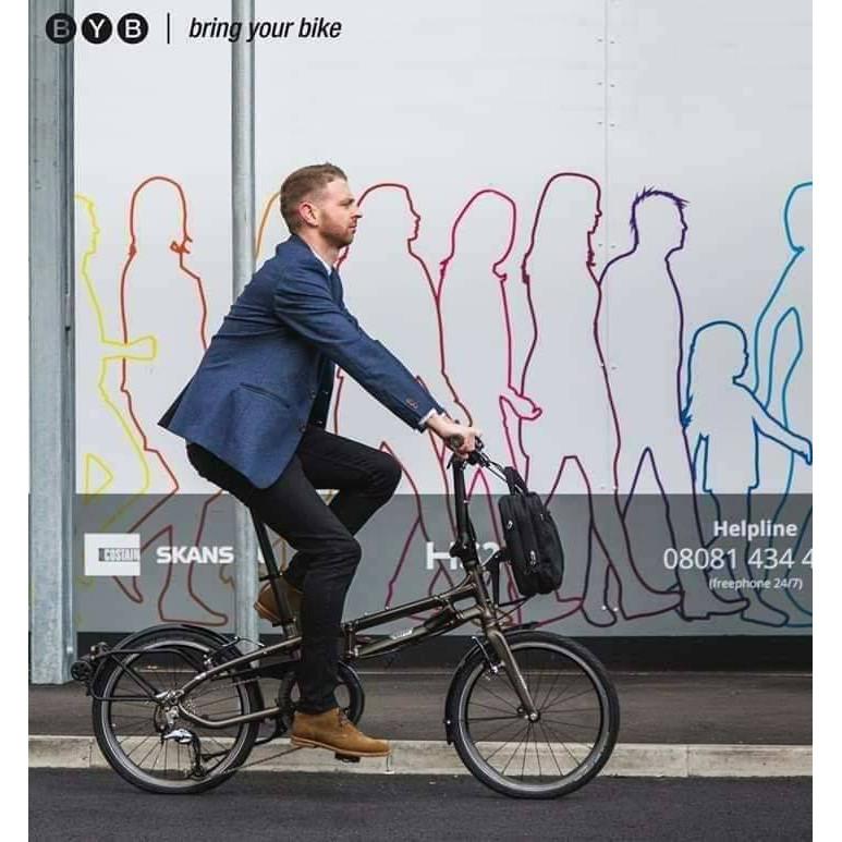 จักรยานพับเบรนTern BYb พิเศษแถมกระเป๋าเคสแข็งเพื่อเดินทาง มูลค่า 10,000 บาท