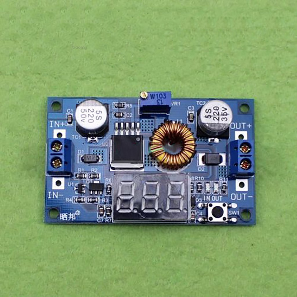 Car Voltage 4-38V to 3.3V Converter Module Step DC-DC Down 24V 5A Buck 5V 9 12V
