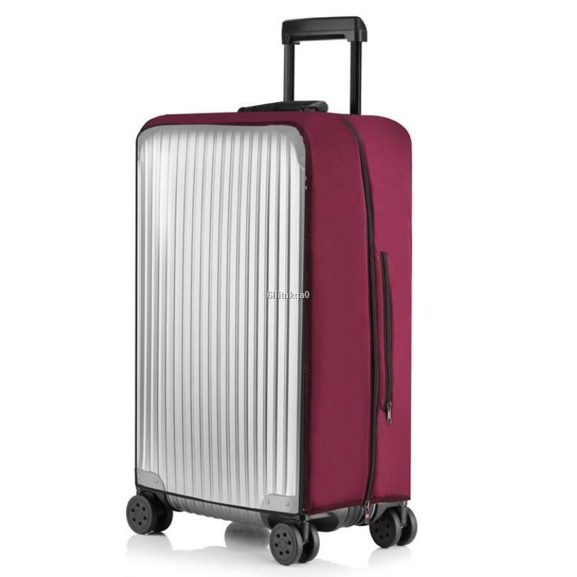 แพ็คเกจ☬ ผ้าคลุมกระเป๋าเดินทาง Premium Luggage Cover เปิดใช้สะดวก แบบใส ถุงคลุมกระเป๋าเดินทาง 24 -30