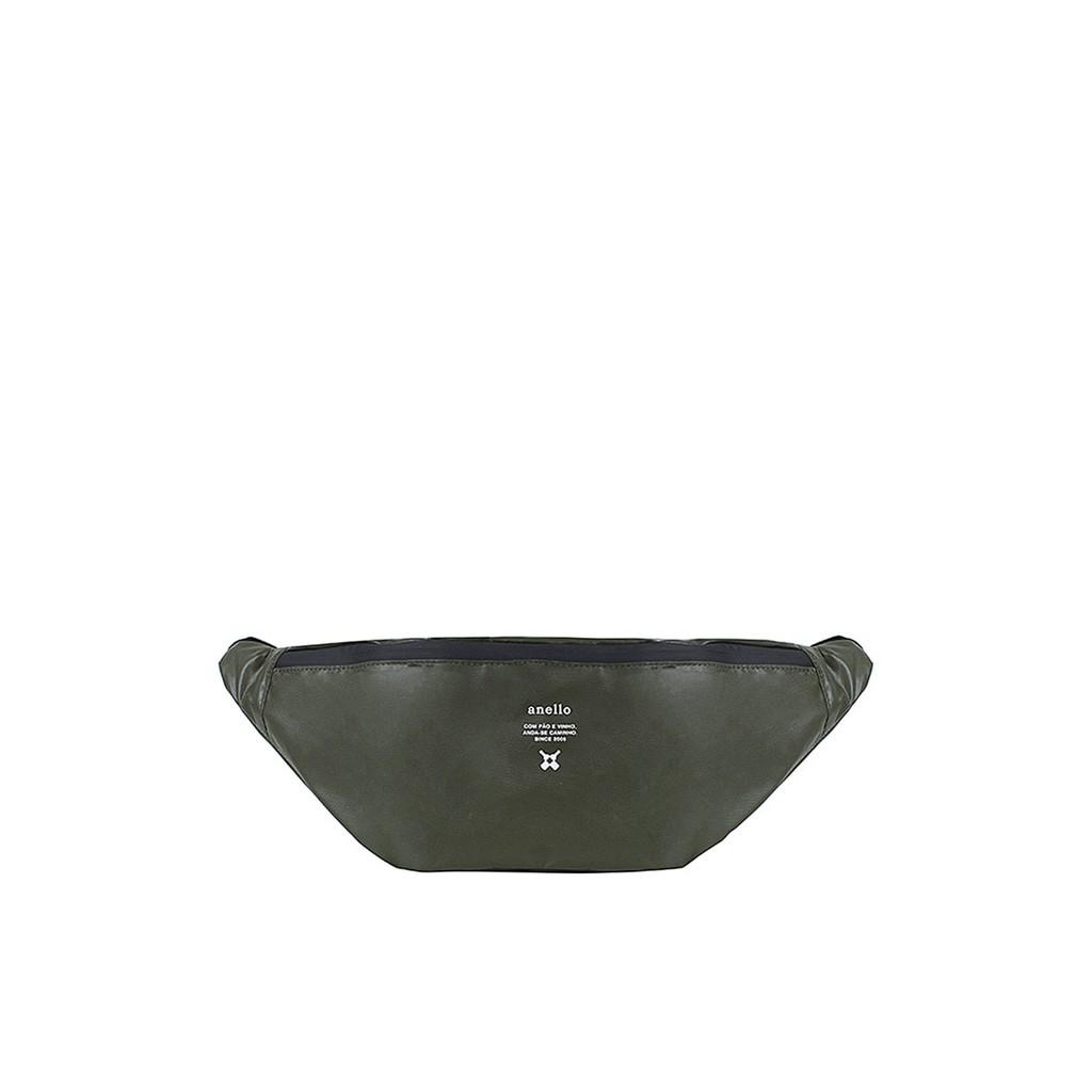 กระเป๋าคาดอก Water proof รุ่น Square OS-N056 สีมะกอก กระเป๋า ผู้หญิง กระเป๋าคาดเอว ANELLO รุ่น Waterproof Series 4