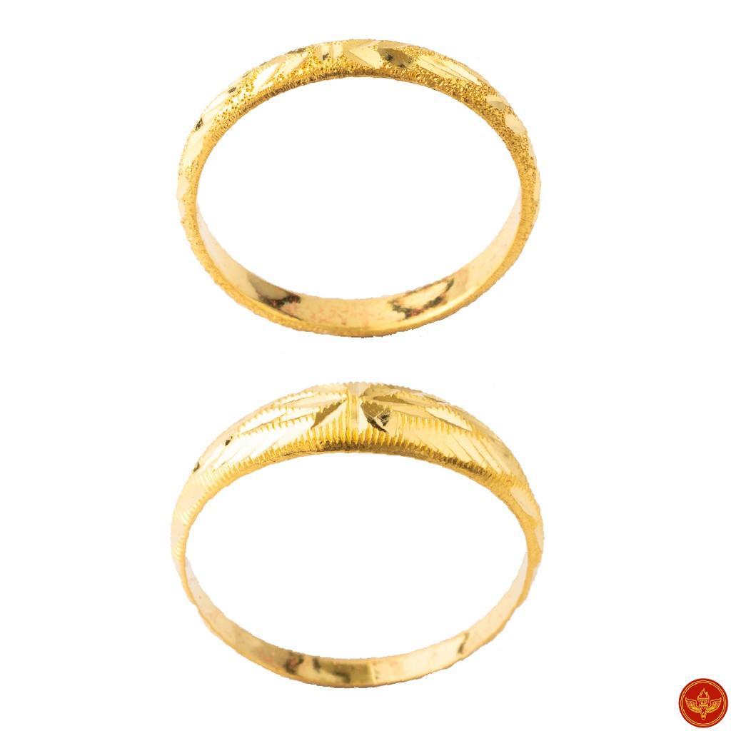 [ทองคำแท้] LSW แหวนทองคำแท้ 1 กรัม ราคาพิเศษ มาพร้อมใบรับประกัน (FLASH SALE 1)