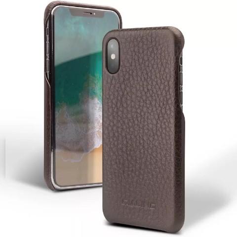 ♦[Hot] ใหม่ระดับไฮเอนด์เคสโทรศัพท์มือถือ iphoneX เคสหนังฝาหลังธุรกิจ Apple X อุปกรณ์เสริมฝาครอบโทรศัพท์มือถือ [พร้อมส่ง]