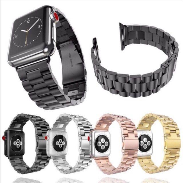 สาย applewatch แท้ สาย applewatch 🔥สายapple watch สแตนเลส🔥(พร้อมส่ง)
