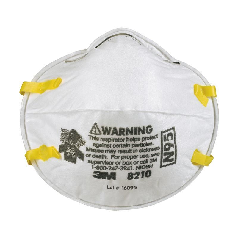 3M-8210 N95 ป้องกันฝุ่น PM 2.5 พร้อมส่ง