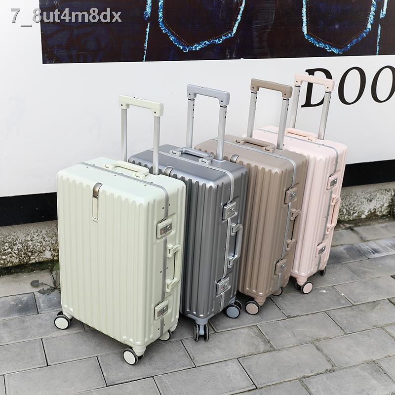 สัมภาระ™✺❁กระเป๋าเดินทางใบเล็ก แข็งแรง ทนทาน ซองหนังผู้หญิง กระเป๋าล้อลาก 18 นิ้ว ล้ออเนกประสงค์ชาย 20 กระเป๋าเดินทาง น้