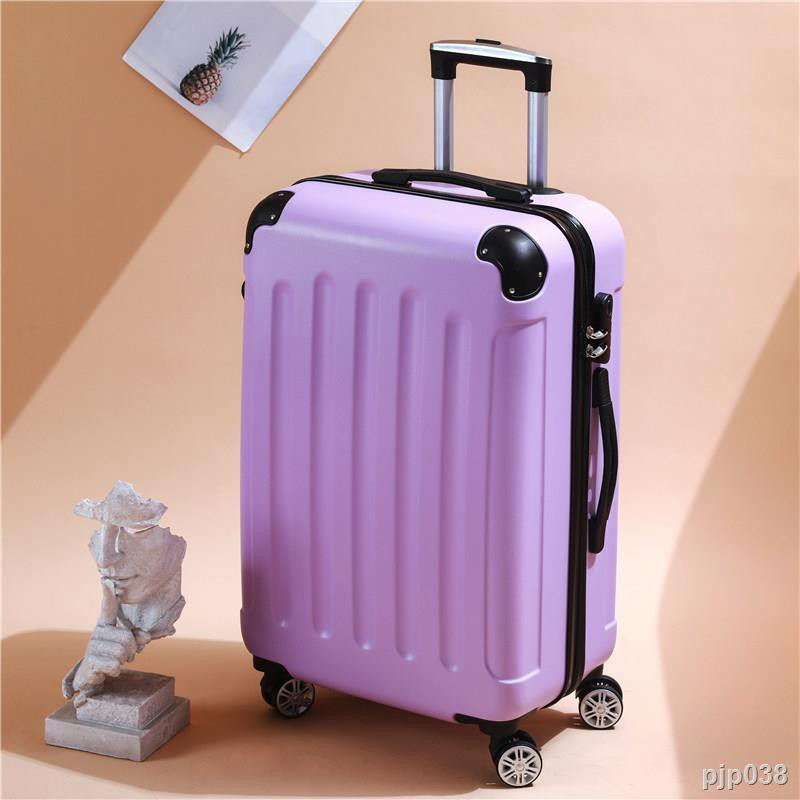 กระเป๋าเงินกระเป๋าเดินทางล้อลากกระเป๋าเดินทาง♣Trolley Case 24 Travel Password Leather Universal Wheel 20 Inch Small Stud