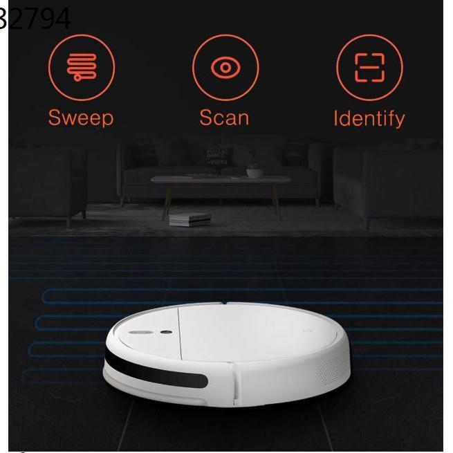 หุ่นยนต์ดูดฝุ่น ❂พร้อมส่งa►Xiaomi Mi Robot Vacuum-Mop 1C หุ่นยนต์ดูดฝุ่น กวาด-ถู 2in1 แรงดูด 2,500 Pa ทำงานฉลาดแบบม