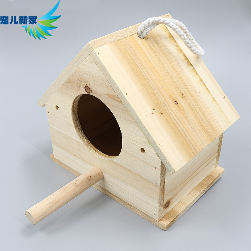 ❉หนังเสือไม้เนื้อแข็ง / กล่องเพาะพันธุ์นกแก้วโบตั๋น กล่องรัง รังนก กรงนก กล่องเพาะขี้เลื่อยฟรี แท่นวาง