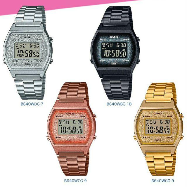 Casio Standard women นาฬิกาข้อมือผู้หญิง B640WDG-7,B640WBG-1,B640WCG-5,B640WGG-9
