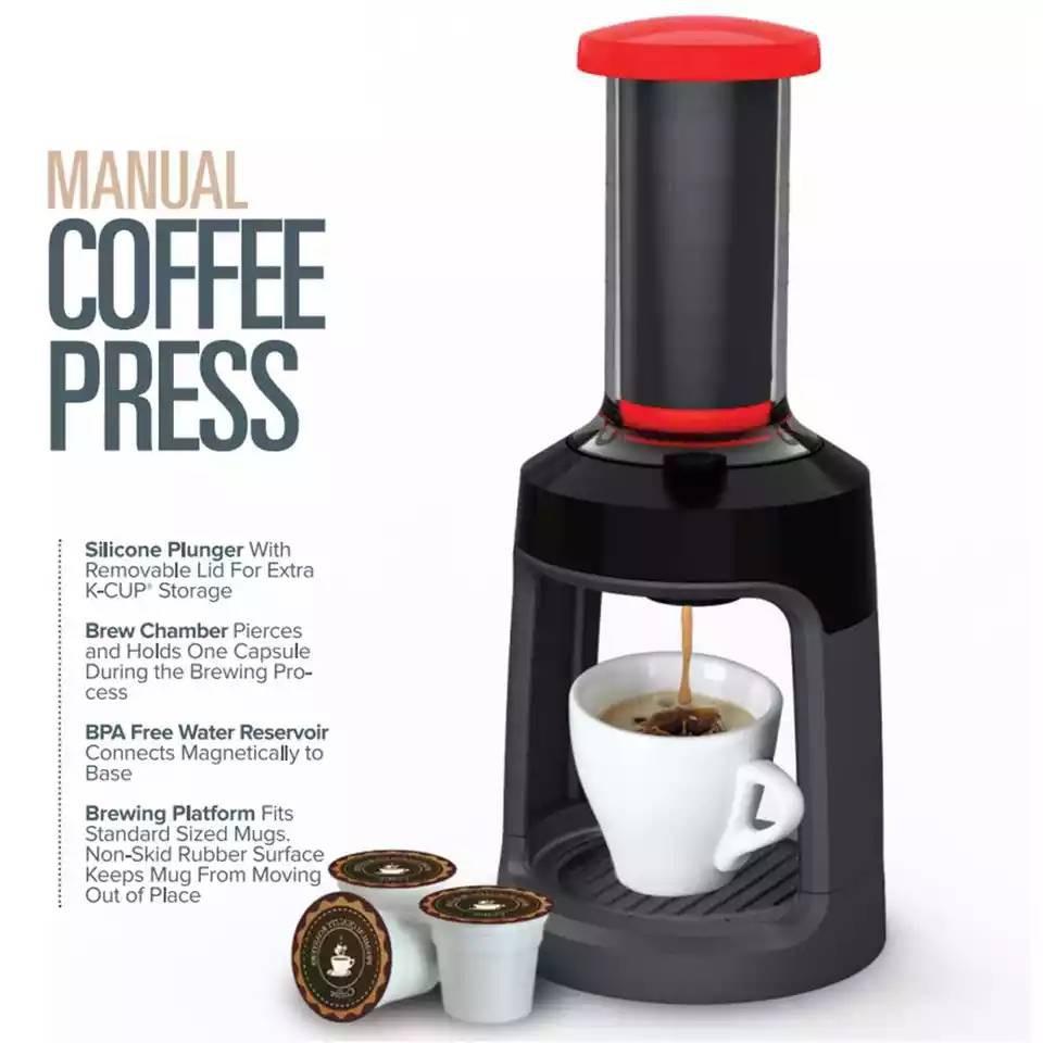เครื่องชงกาแฟอัตโนมัติแบบทำมือ**สินค้าพร้อมส่งแล้วจ้า🙏🙏🙏🎁🎁🎁🎁