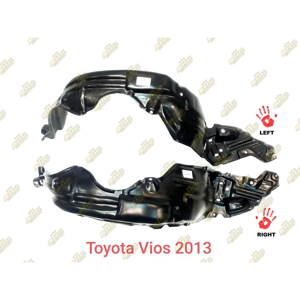 พลาสติกซุ้มล้อหน้า Vios 2013 Toyota เทียบแท้