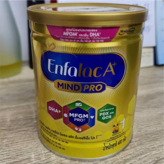 ℗○นมผง Enfalac A+ MFGM PRO สูตร 1 ขนาด 400 กรัม