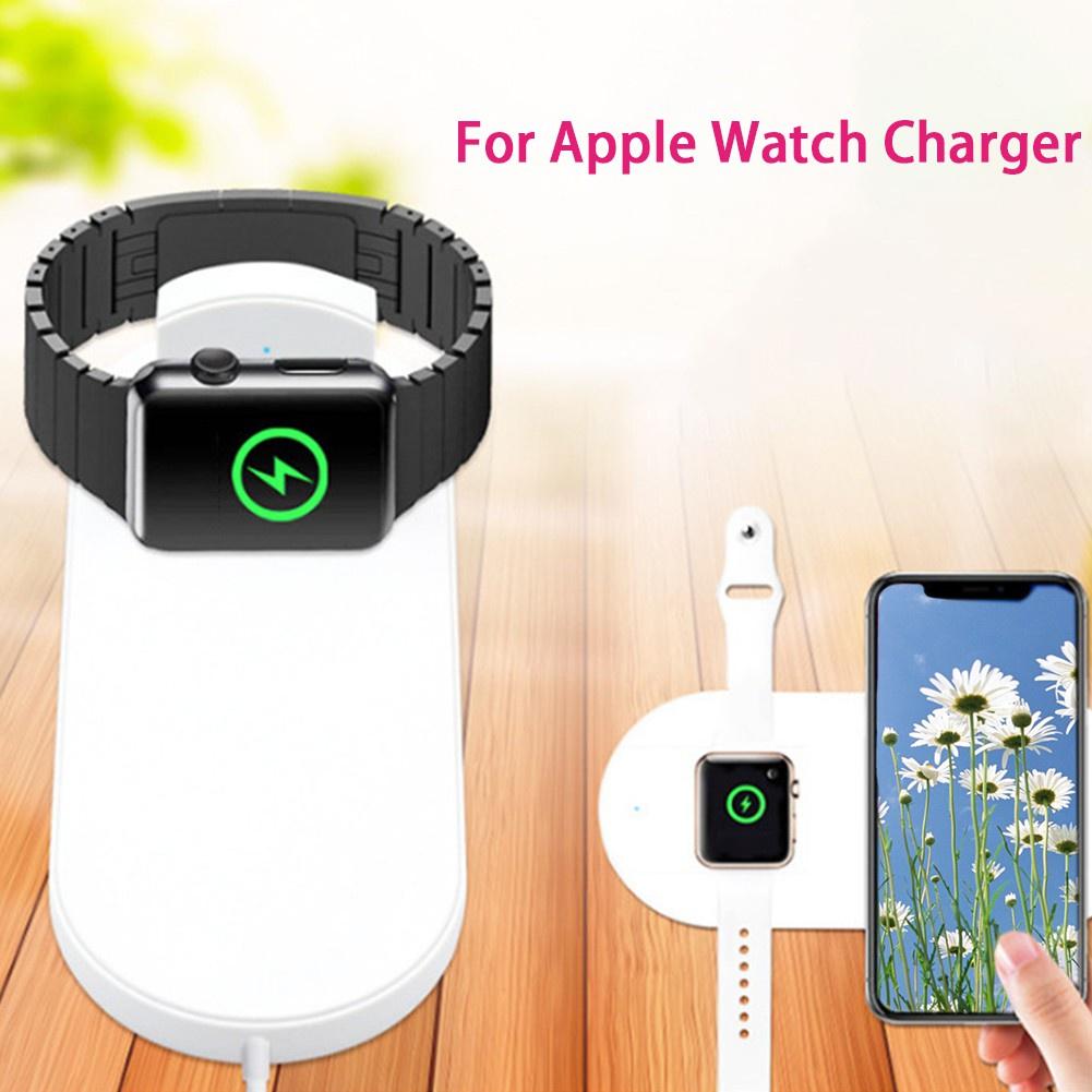 สาย applewatch สายนาฬิกา applewatch 【qkh666】apple watch อุปกรณ์ชาร์จแบตเตอรี่แบบไร้สายสําหรับ apple watch series 2/3 iph