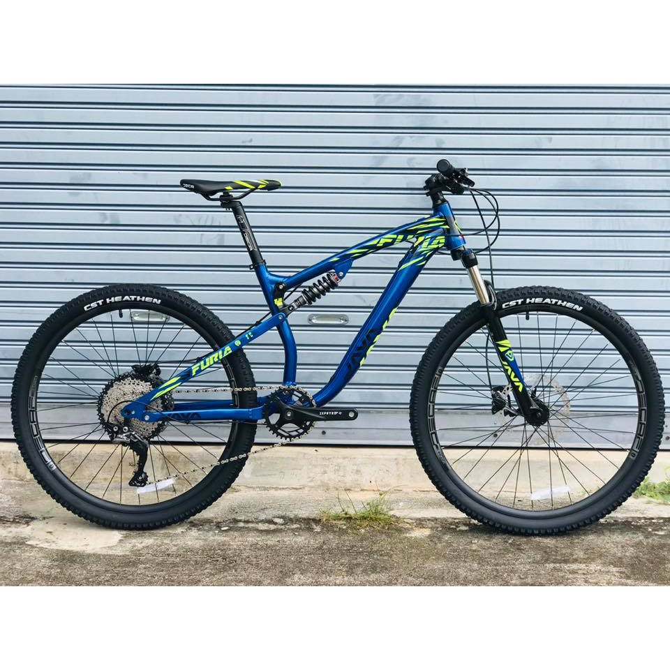 จักรยานเสือภูเขา JAVA FURIA 11 SP, MTB แบบ Fullsus กับล้อ 27.5