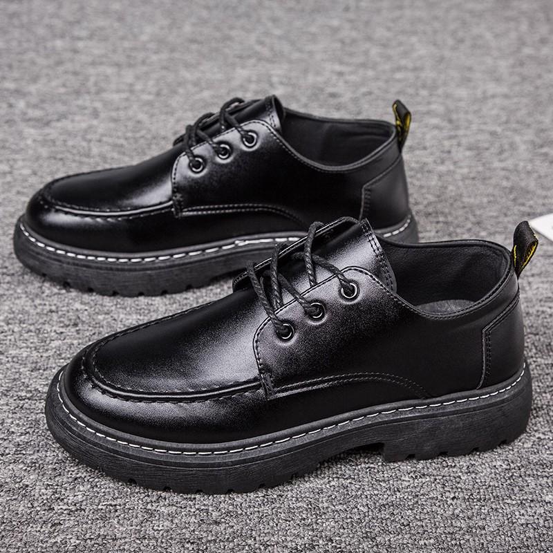 🔥พร้อมส่ง🔥 รองเท้าหนังผู้ชาย รองเท้าคัชชูผู้ชาย รองเท้าบูท รองเท้าหนัง