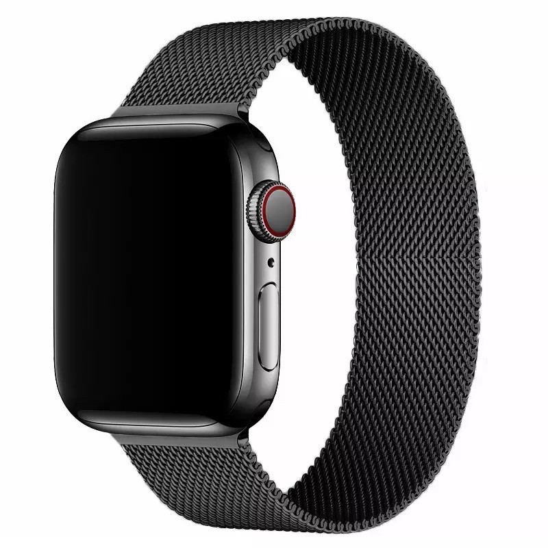 ✠ↂ☫พร้อมส่งจากไทย สาย Stainless Steel สำหรับ AppleWatch มีให้เลือก 6 สี ใส่ได้ทั้ง series SE/6/5/4/3/2/1