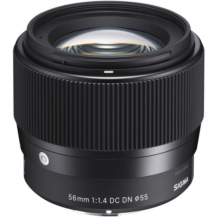 Sigma 56mm f/1.4 DC DN Contemporary Lens - [For Sony E]