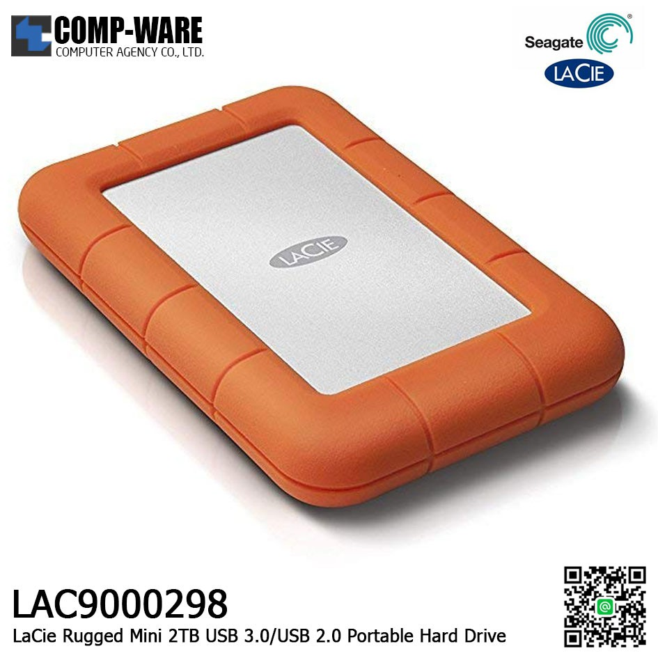 USB 3.0 PC Cable Cord for LaCie 4TB Rugged Mini Portable External Hard Drive HDD