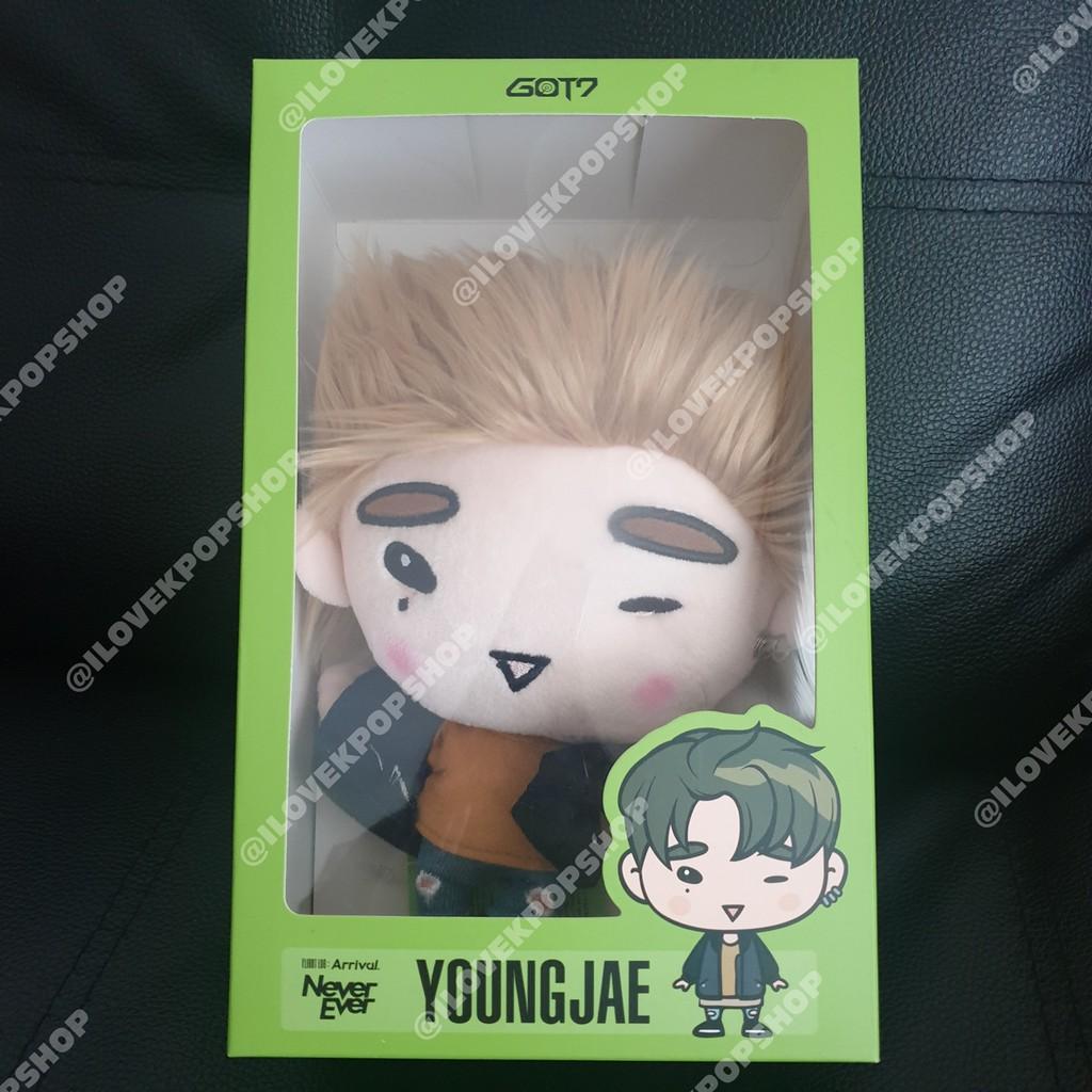 พร้อมส่ง ตุ๊กตา ชัคกี้ GOT7 (ํYONGJAE)