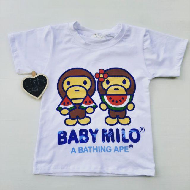 เสื้อยืดเด็กชาย Baby Milo
