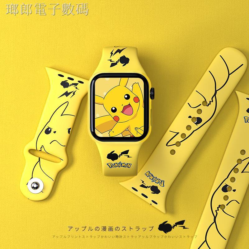 สายนาฬิกาข้อมือลายการ์ตูนสําหรับ Apple Watch Band Applewatch 6/ Se