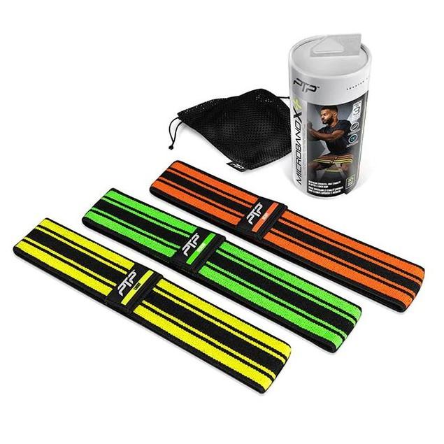 🔥*พร้อมส่ง*🔥 PTP Microband (3 ชิ้น) X Stripe ชุดยางยืดออกกำลังกาย