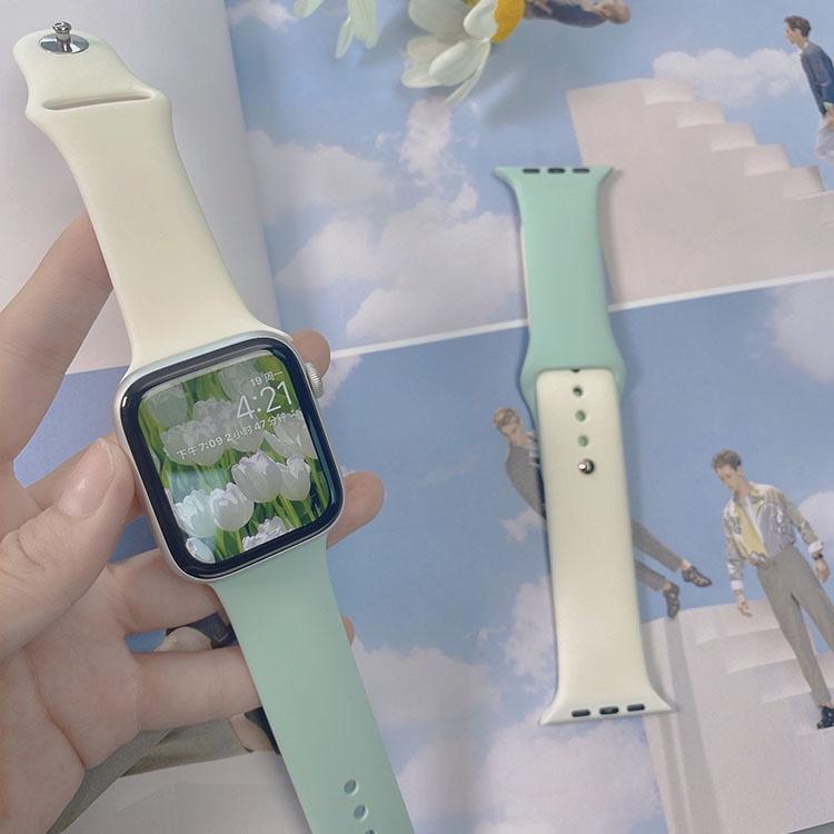 สายนาฬิกาข้อมือซิลิโคนสําหรับ Applewatch Applewatch 65 Sports 3840 Mm424
