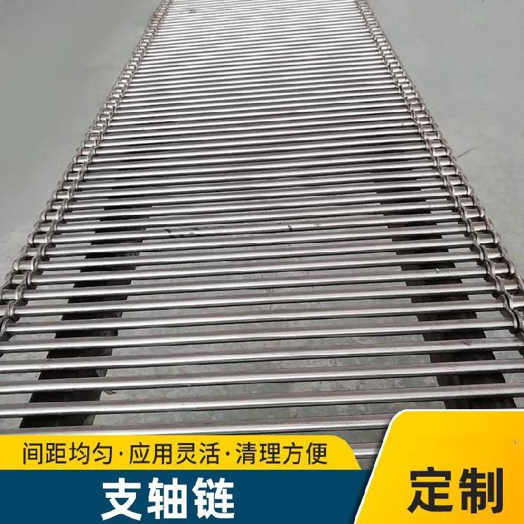 ที่กำหนดเองอุณหภูมิสูงโซ่สายพานลำเลียงลูกกลิ้งเครื่องเป่าสายพานลำเลียงโซ่ตาข่ายลวดยาวโซ่ไม่มาตรฐาน