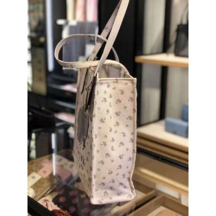 [AQ]COACH 69250 New Disney Collection กระเป๋าผ้าแคนวาสสุภาพสตรีลายดัมโบ้กระเป๋าสะพายกระเป๋าผู้หญิงกระเป