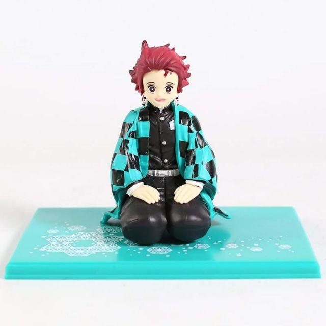🔥Demon Slayer Kimetsu No Yaiba Kamado Tanjirou Mini PVC Figure Plam Model Toy Doll 10cm.
