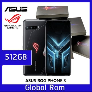 ASUS Rog Phone 3 512GB | Ram 12 Strix Edition (EU) Global Snapdragon 865+ สินค้าใหม่ แท้ Original