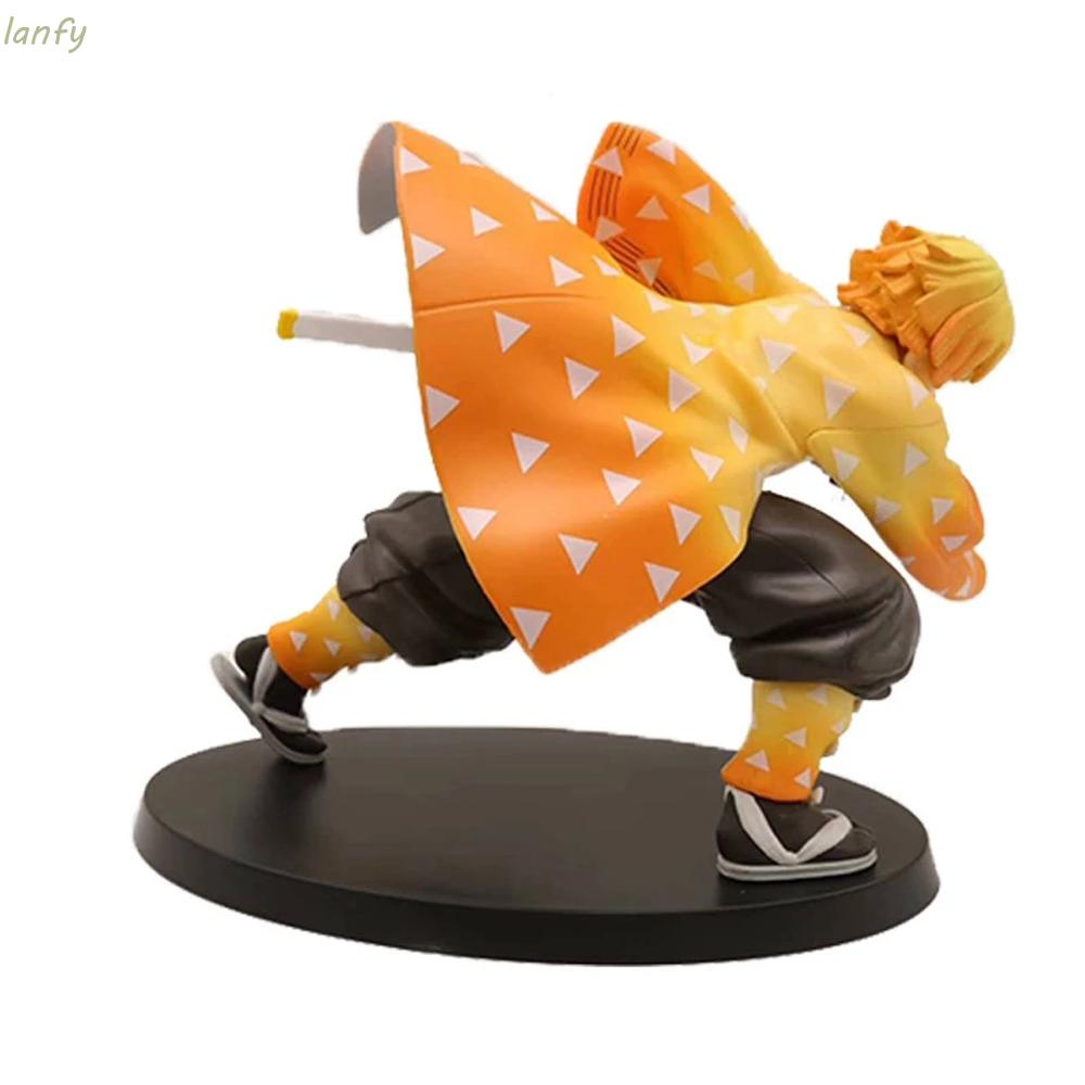 LANFY Demon Blade Figure Model PVC Toy Kimetsu no Yaiba Demon Slayer Toys Doll Gift Action Figure 15cm Japanese Anime Ag