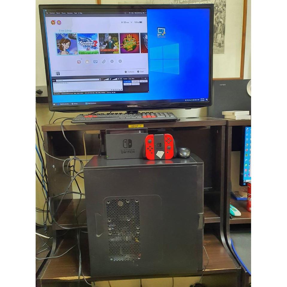[ผ่อน0% 10เดือน]เครื่องสตรีมเกมมือสองจากญี่ปุ่น Switch, PS4, PS3, PS2,XBOX360, Android, IOS และทุก Media ที่ต่อ HDMI ได้