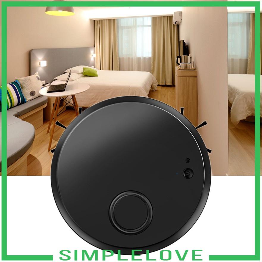 หุ่นยนต์ดูดฝุ่น ❊( Simplelove ) หุ่นยนต์ดูดฝุ่นชาร์จ Usb สําหรับทําความสะอาด