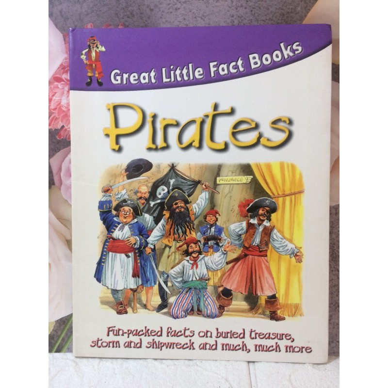 Great little fact books pirates
