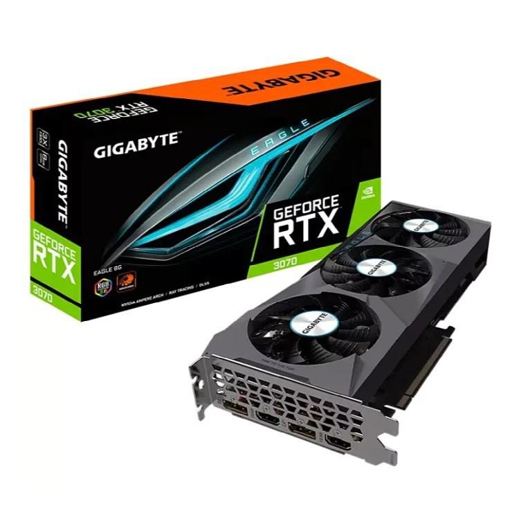 การ์ดจอเกม Gigabyte GIGABYTE GeForce RTX 3070 EAGLE Falcon 8G DDR6 ใหม่