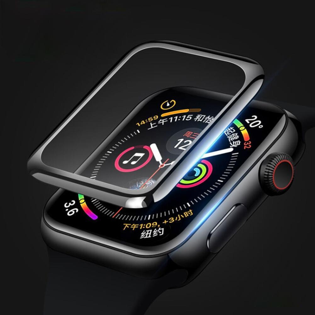 3D Tempered Apple Watch Glass Screen Protector For Apple 5 Series Case 40mm Watch Will 44mm W1V1