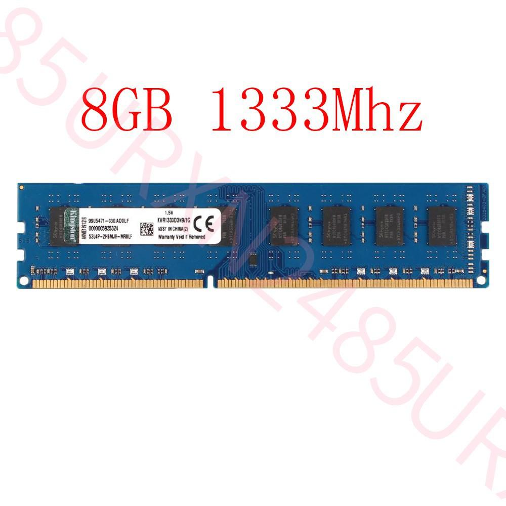 32GB 16GB 8GB DDR3 PC3-12800U KVR16N11//8 Blue Desktop RAM For Kingston Lot UL