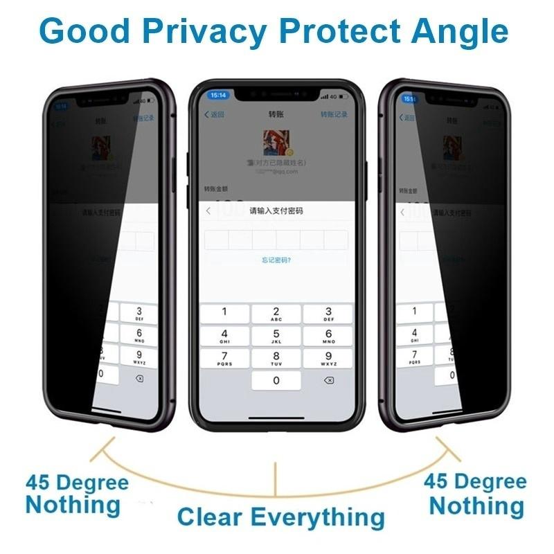 เคสโทรศัพท์มือถือแบบสองด้าน tpu สําหรับ iphone 6 6 s 7 8 plus xs max 11 pro max