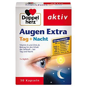 A látásjavító gyógyszerek: tabletták, cseppek - Cseppek Doppelherz a látás javítására