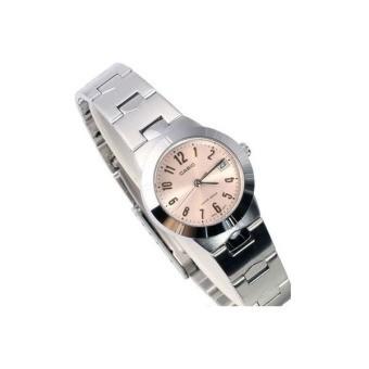 Casio Standard นาฬิกาข้อมือผู้หญิง สายสแตนเลส รุ่น LTP-1241D-4A3DF