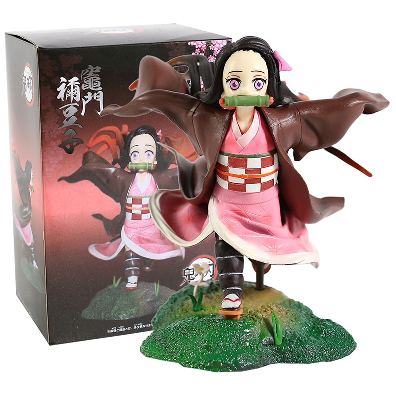 Demon Slayer Kimetsu No Yaiba Kamado Nezuko Running Ver. PVC Figure Collectible Model Toy