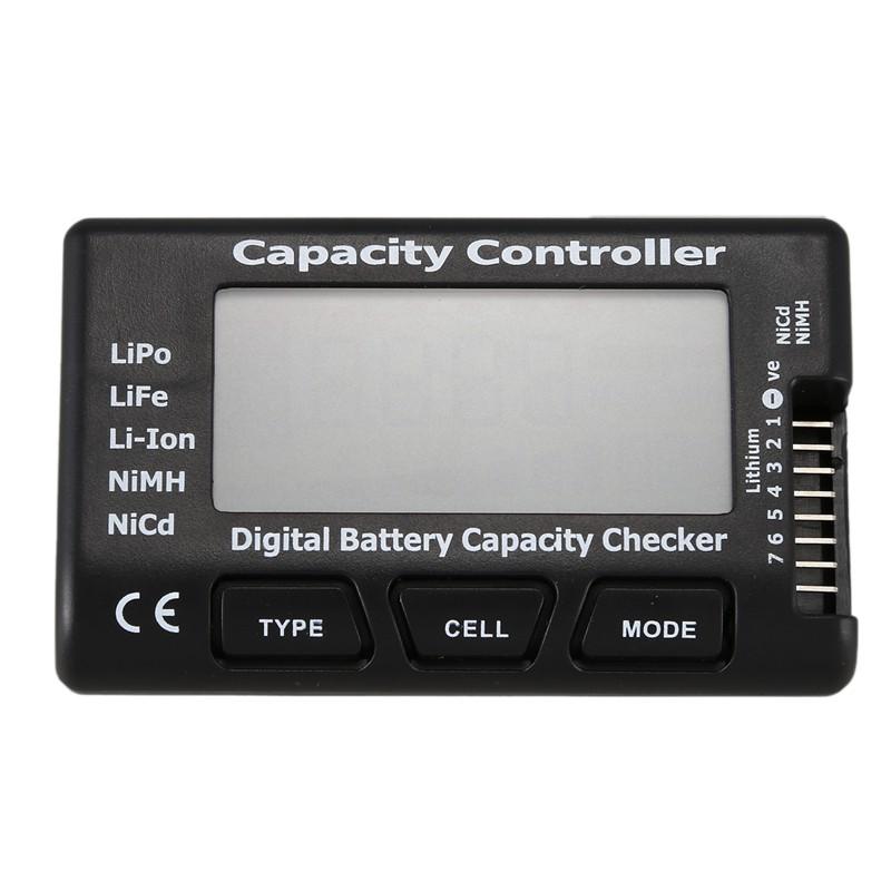 CellMeter-7 Digital Battery Capacity RC Checker For LiPo LiFe Li-ion Nicd NiMH