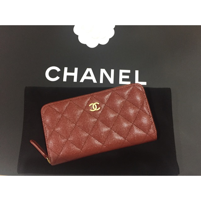 20253220b493 Chanel Zippy Medium Wallet   Shopee Thailand