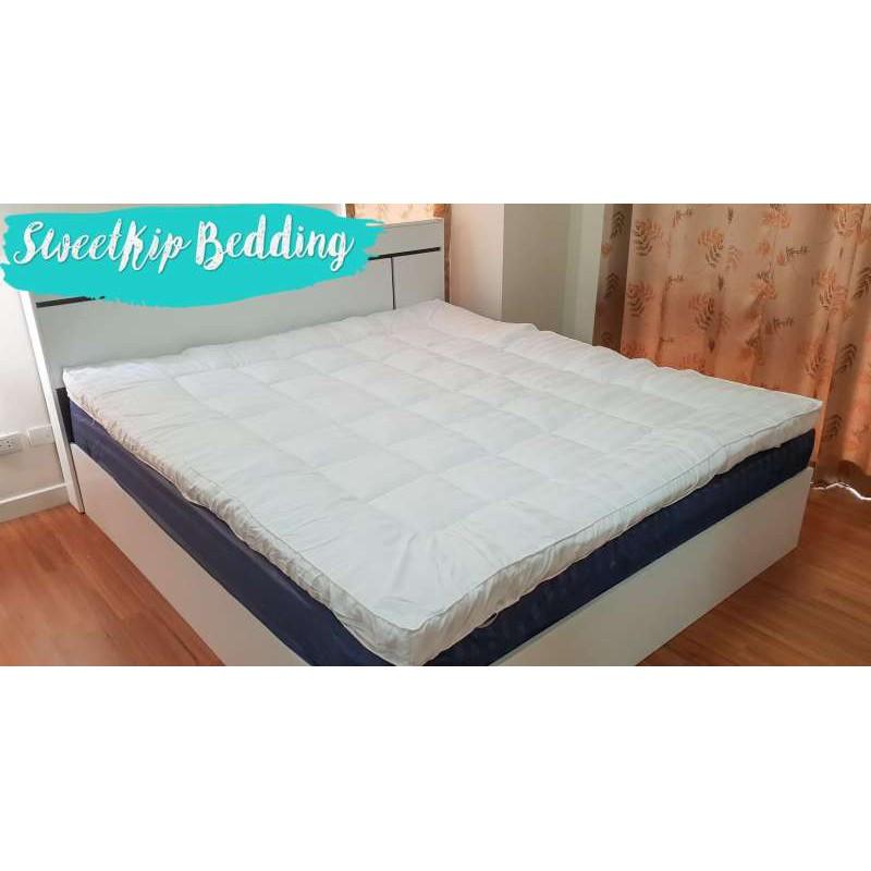 ที่นอน Topper ท็อปเปอร์ ขนห่านเทียม เบาะรองนอน ที่นอนปิคนิค ที่นอน เกรด premium มี 3 สี 3 ขนาด 3.5ฟุต, 5ฟุต, 6 ฟุต
