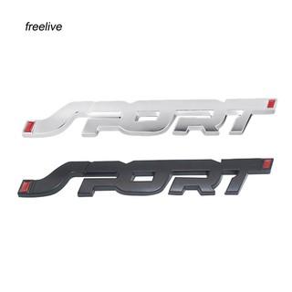 2x Black S-line B New Metal Sticker Emblem Badge Decal Car 3D Motorsports Racing