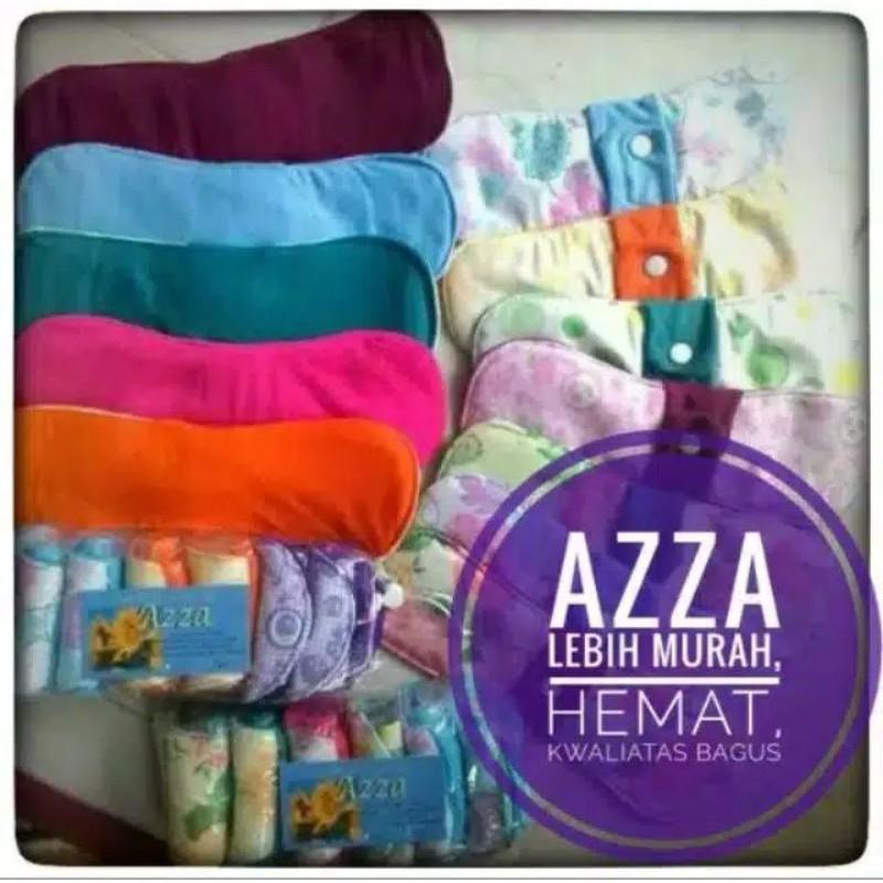 Azza (day) แผ่นผ้ารองล้างเครื่องสําอาง