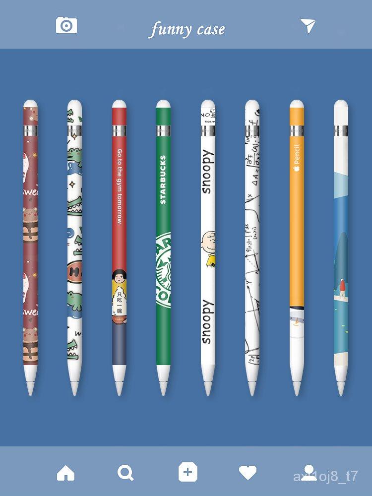 【เตรียมส่ง】【apple pencil】【เคลือบ】ปากกาแอ็ปเปิ้ลapplepencilสติกเกอร์สร้างสรรค์รุ่น1รุ่นที่สอง2ฟิล์มป้องกันลื่นipadpencilป